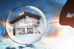 Immobilienmarkt Immobilienblase platzt Niedrigzinsphase